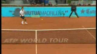 Madrid 2010: QF Roger v Gulbis (Highlights Part 1) - Sorry but my broadcaster did not show the first set and the first game of the second set.