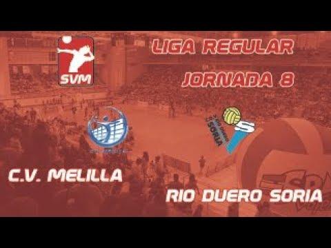 CV Melilla contra Río Duero Voley