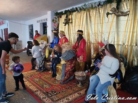 Entrega de cartas a los Reyes Magos de Punta del Caimán