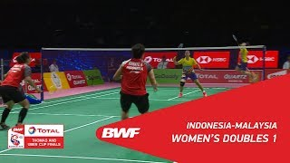 Video Uber Cup | WD1 | POLII/RAHAYU (INA) vs GOH/LEE (MAS) | BWF 2018 MP3, 3GP, MP4, WEBM, AVI, FLV November 2018