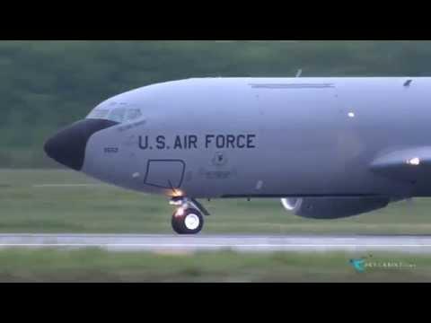 米空軍演習(レッド・フラッグ・アラスカ)への参加のため嘉手納基地から千歳基地に飛来。  Date:2014/6/7 Airline:United...