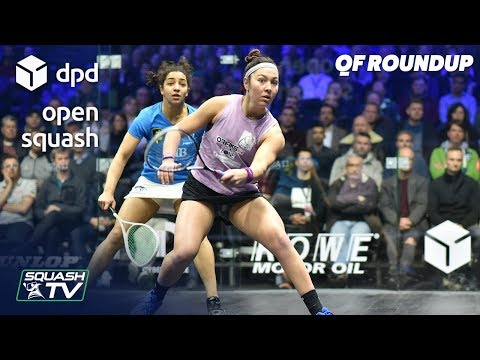 Squash: DPD Open 2019 - Women's QF Roundup