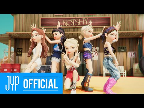 "ITZY ""Not Shy (English Ver.)"" M/V in ZEPETO"