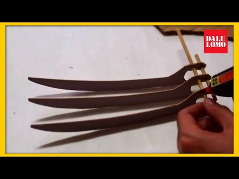 claws - homemade note: this template is for my elegant skinny palm, increase the size if you have a manly thick palm :) template: http://bit.ly/RORDro reference blog...