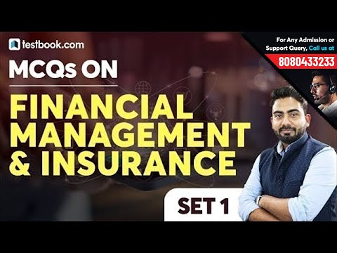 MCQ on Financial Management & Insurance | Insurance Awareness for LIC AAO Mains 2019 | Abhijeet Sir