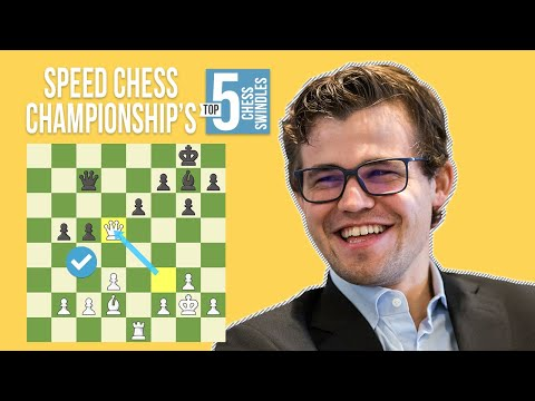 The Top 5 Swindles in Speed Chess Championship History
