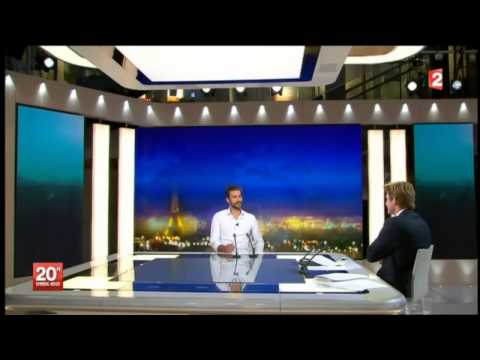 <p>Interview de Guillaume Néry au JT de 20h - France 2</p>