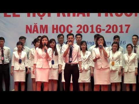 LỄ HỘI KHAI TRƯỜNG NĂM HỌC 2016-2017- VIỆT ANH MỘT CHẶNG ĐƯỜNG