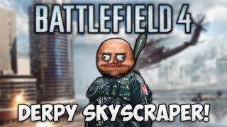 BF4: SURVIVING THE SKYSCRAPER! (Battlefield 4 Beta Funny Moments)