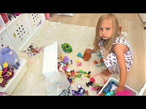 ВЛОГ Мне ПЛОХО / Я не знаю что со мной / Алиса не хочет убирать игрушки (видео)