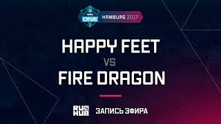 Happy Feet vs Fire Dragon, ESL One Hamburg 2017, game 2 [v1lat, GodHunt]