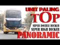 UNIT BARU PALING TOP TAHUN INI SKYVIEW ADIPUTRO SUPER DOUBLE DECKER DAN SUPER HIGH DECKER