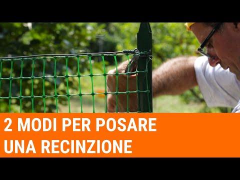 Tutorial: come installare una recinzione (livello avanzato)