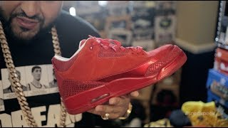 "A ""Sneak Peek"" Inside DJ Khaled's Sneaker Room"