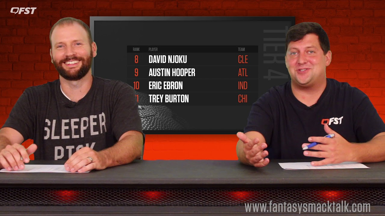 2019 Fantasy Football Tight End Tiers and Rankings thumbnail