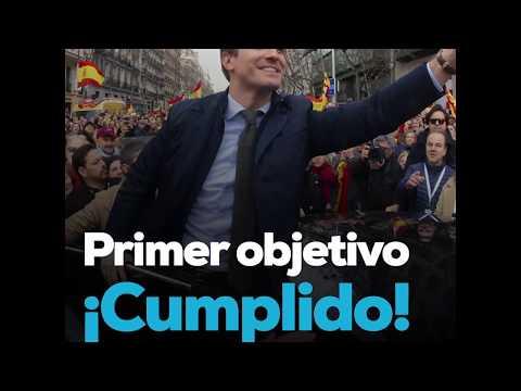 Primer objetivo ¡Cumplido! #EleccionesGenerales