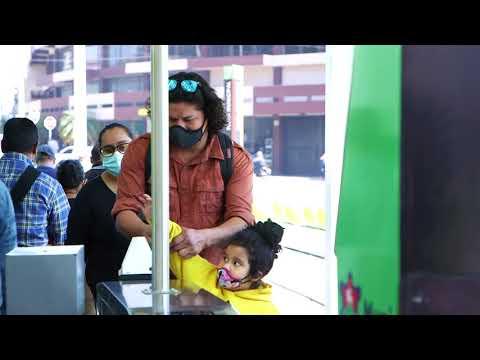 Transmetro se moderniza con la Tarjeta Ciudadana