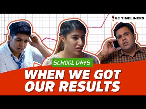 School Days: When We Got Our Results | The Timeliners