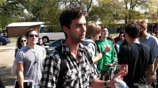 Atheist debates Preacher at University of North Texas