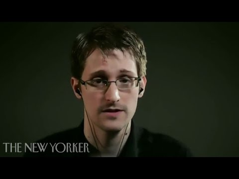 Edward Snowden Pt.1: The Final Check on Abuse of Power is Whistle-blowing–The New Yorker Festival