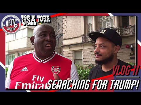 Robbie & Troopz Search For Trump At The RED House! | AFTV Vlog In Washington DC Day 10