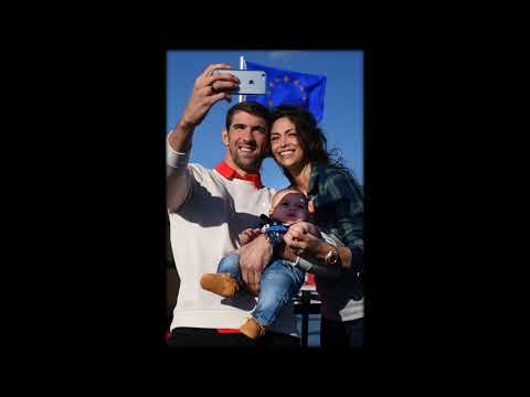 Michael Phelps welcomes second son with wife Nicole as couple share adorable first pictures as famil