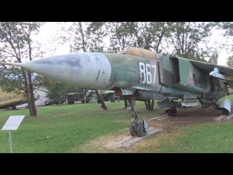 Aircraft MiG-23 Exterior in 3D....