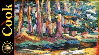 Let's paint an awesome colorful fall forest trees in tonight's lesson. Take a page out of the handbook of the Impressionists by implementing the use of warm and cool colors for shadows and highlights, Ginger will teach thousands to this magical forest of simmering darks and lights.Learn how to bring the warmth of a summer day by layering kaleidoscope or Colors. Learn to master color in this enchanting forest painting of pine and birch trees.Follow Ginger as she takes you step-by-step Into the art mastering the layering of color with acrylic paints in this step by step tutorial.Ginger uses her normal palette, please watch this video:https://gingercooklive.gallery/art-supply-videoPlease SUBSCRIBE to this channel to show your support and to stay informed about new releases and live broadcasts. Be sure to TURN ON the alarm under the little bell.Being the GOLD STANDARD in acrylic painting tutorials, Ginger Cook will be exploring the Fine Art of Acrylic Painting by offering tips and tricks to help you with your own acrylic paintings. During her live broadcasts, Ginger will be taking questions and may demonstrate the answer when possible.Learn more about acrylic painting lessons:WEBSITE: https://gingercooklive.galleryPINTEREST: https://gingercooklive.gallery/yt-pinterestFACEBOOK: https://gingercooklive.gallery/yt-facebookNEWSLETTER & FORUM SIGN UP FORM: https://gingercooklive.gallery/yt-newsletter-forumContact Information:Website: https://gingercooklive.gallery/contact-us/
