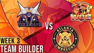Minnesota Vikavolts Team Building WBE S2 W3: VS Atlanta Umbreons! | Pokemon Ultra Sun and Moon by aDrive