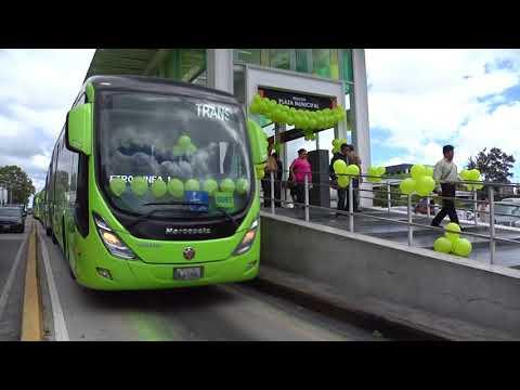 Transmetro Guatemala, el público lo reconoce