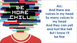 Video Voices In My Head - BE MORE CHILL (LYRICS) MP3, 3GP, MP4, WEBM, AVI, FLV Agustus 2018