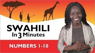 Learn Swahili - - Numbers 1-10