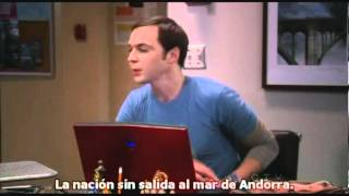 The Big bang theory Sheldon Cooper + Andorra + Versió Original.