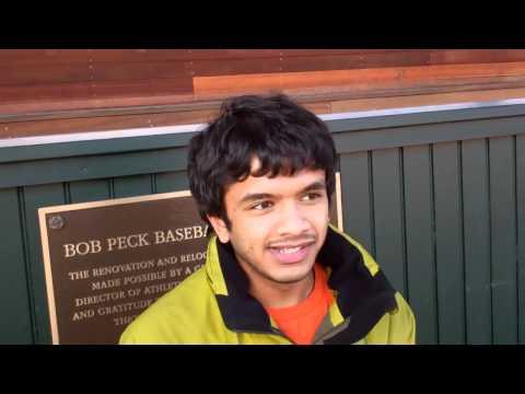 Aayush Khadka '12 3rd Aaron Pinsky '06 Broadcasting Award Winner