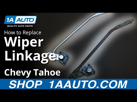 How To Install Replace LH Wiper Linkage 1995-99 Chevy Tahoe GMC Yukon