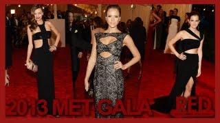 미란다커, Emma Watson, Jessica Alba, Miranda Kerr SEXY Cut-Outs At 2013 MET Gala (RED)