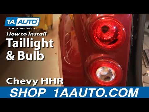 How To Install Replace Taillight and Bulb Chevy HHR 06-10 1AAuto.com