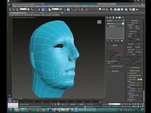 edge lecture - In this video I demonstrate how to build a rigging/animation friendly head base mesh using Autodesk 3DS Max 2013.
