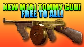 M1A1 Tommy Gun Impressions - New Battlefield Hardline Weapons