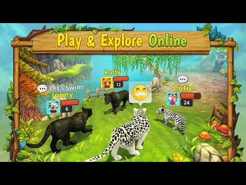 Puma Family Simulator Online | Playing & Hunting in Multiplayer | [Area730 Simulator Games]