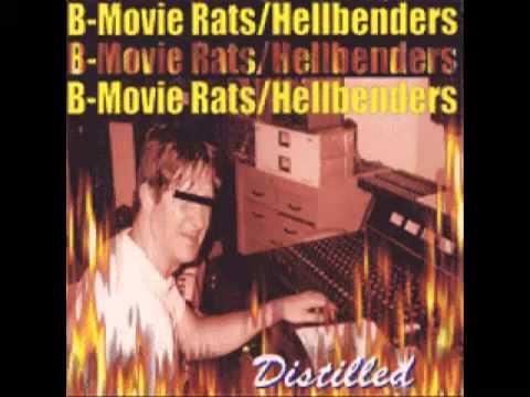 B Movie Rats - Distilled (split LP/CD)