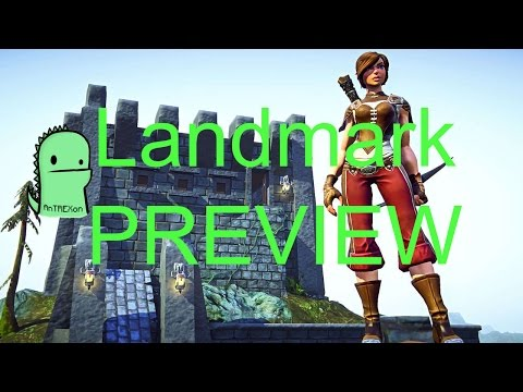 Everquest Next Landmark gameplay review – first impressions (2014)