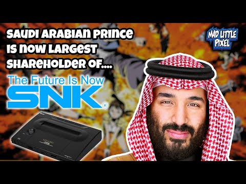Saudi Arabian Prince Becomes Largest Shareholder Of Neo Geo Company SNK With $190 Million Purchase!