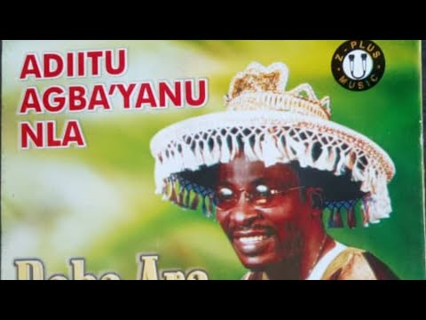 Aditu Agbayanu Nla by Baba Ara marketed by Z-Plus Music Int'l Ltd. Pls. subscribe for more videos