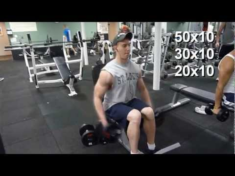 My Workouts: Seated Laterals Raises