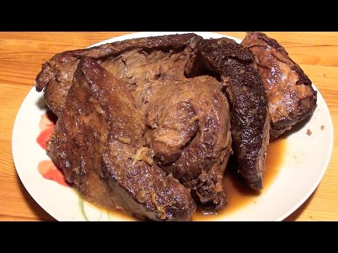 вкусная тушеная говядина рецепт с фото