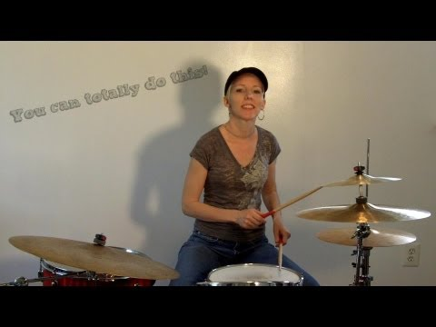 Beginner Drum Lesson - 6/8 Beat - Praise And Worship