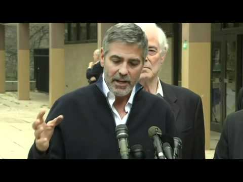 George Clooney Discusses Sudan Situation