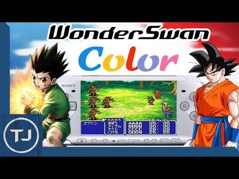 PSP Bandai WonderSwan Color Emulator! (ROMS Included) 2017!
