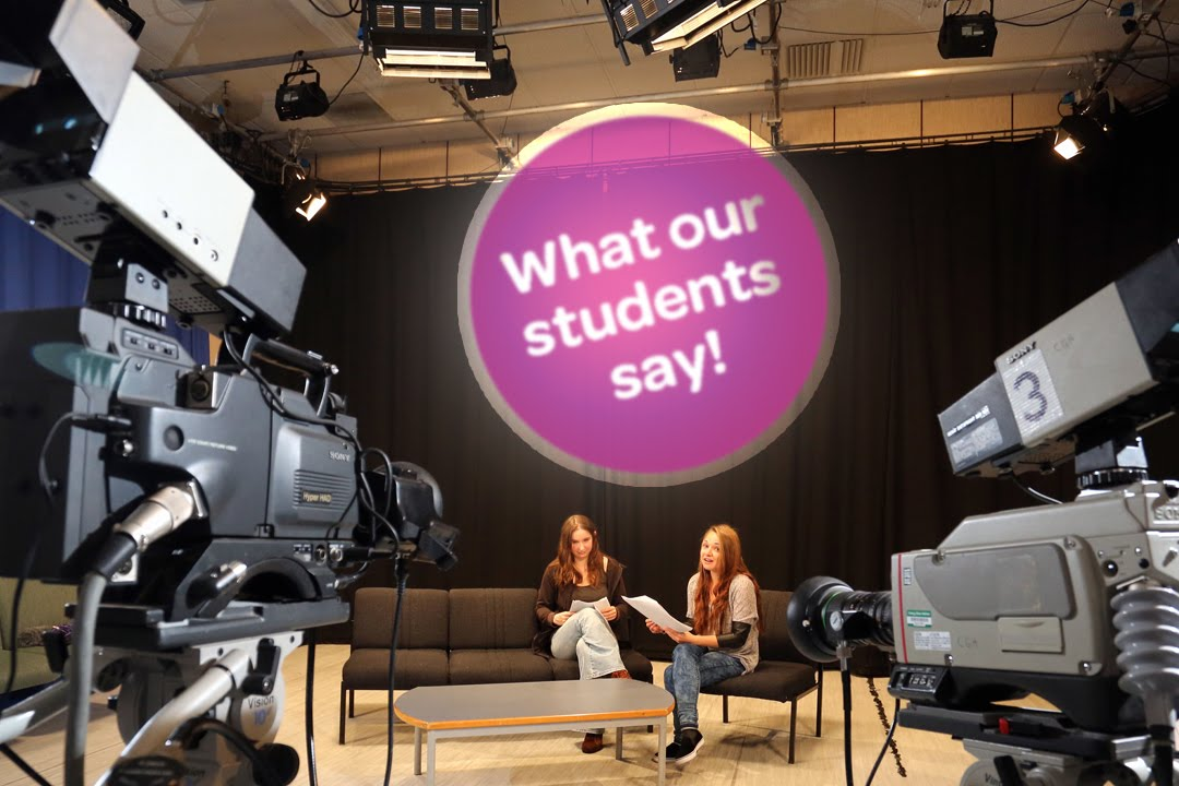 CAVC: What our students say - Creative Media